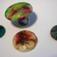 Glazen ringtops